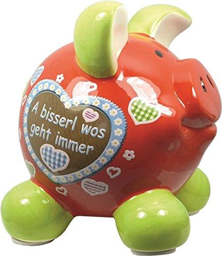 Swiggie Sparschwein Heimat A bisserl wos in versch. Größen, Größe:groß