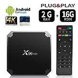 Android 7.1 RAM 2 G + 16G Rom TV Box x96 Mini amlogic s905 Quad Core, 4 K Ultra HD h.265, HDMI, Wi-Fi Media Player Smart TV box by puersit