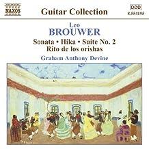 Brouwer: Guitar Music, Vol. 3 - Sonata / Hika / Suite No. 2 / Rio De Los Orishas