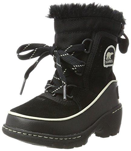 Sorel Kinder Childrens Torino III Stiefel, schwarz/weiß (light bisque), Größe: 31 -