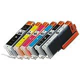 Prestige Cartridge PGI-570XL CLI-571XL Cartucce d'Inchiostro compatibile con Stampanti Canon Pixma MG7750/MG7751/MG7752/MG7753, 6 Pezzi, Multicolore