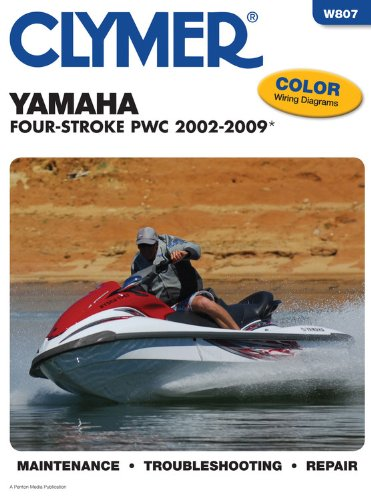Yamaha Four Stroke Pwc 2002-2009 (CLYMER MOTORCYCLE REPAIR) -