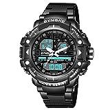 Reloj de pulsera para hombre, diseño militar digital, impermeable, para exteriores,...