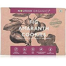 Nourish Organics Fig Amaranth Cookies 120Gr