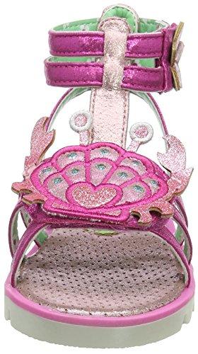 Irregular Choice Mädchen Crab Gladiator Sandalen Pink (Pink)