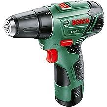 Bosch EasyDrill 12-2 - Taladro (Ión de litio, 12 V, 2,5 Ah, 950 g, Negro, Verde, Rojo)
