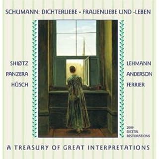 Schumann: Dichterliebe; Frauenliebe und Leben. A Treasury of Great Interpretations. by Aksel Schi??tz / Gerald Moore (2013-05-04)