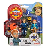 Sam, el bombero Norman & Sam Conjunto de Figuras | Fireman Sam | Simba Toys
