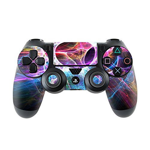 Skins4u Sony Playstation 4 Skin PS4 Controller Skins Design Sticker Aufkleber styling Set auch für Slim & Pro - Static Discharge