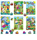 Spring & Summer Accents Bulletin Board Set (Poster) - Common