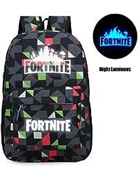 d3c0167fc7 Memoryee Fortnite Unisex Galaxy School Bag Collection Canvas Backpack  Laptop Book Satchel Hiking Bag - 15L