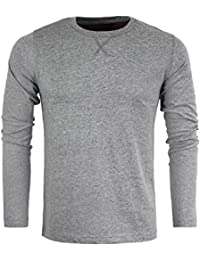 Brave Soul Mens Long Sleeved Designer Top Cotton Summer Casual New Sizes S-XL