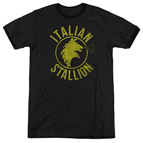 Rocky Herren T-Shirt Schwarz