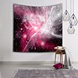Galaxy Stars Universe Milchstraße Wandbehang Hippie Wandteppiche Psychedelic Celestial Print Tapisserie Picknick Strand Blatt Tischdecke