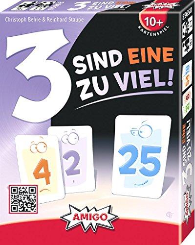AMIGO 05963 - 3 sind eine zuviel, Kartenspiel