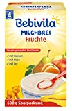 Bebivita Milchbrei Frucht, 4er Pack (4 x 600 g)