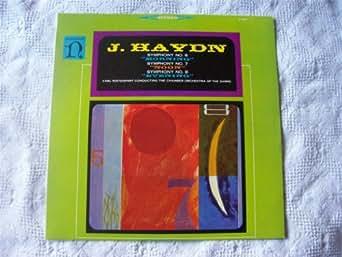 H 71015 Haydn Symphonies 6/7/8 Sarre CO Ristenpart LP