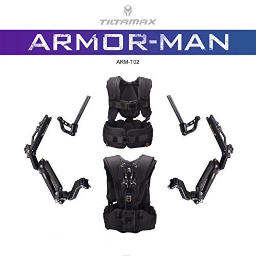 Preisvergleich Produktbild TiLTA TiLTA-MAX Armor Man II ARM-T02 3 Achsen Handheld Gimbal Stabilizer Ultimate Steadicam 3-Axis Gimbal Support action support arms support vest DJI Ronin 2 M MX GR-T03 FREEFLY MOVI Pro M5 M10 M15