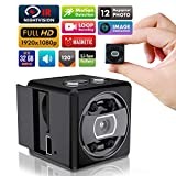 securispy-mini Spy nascosta camera-1080p piccolo HD wireless Home Security sorveglianza cameras-covert Tiny Nanny Cam con visione notturna e Motion detection-compact indoor/outdoor videocamera