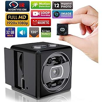 Aobo Spy Camera Wifi Hidden Camera Mini Wireless Hd 1080p