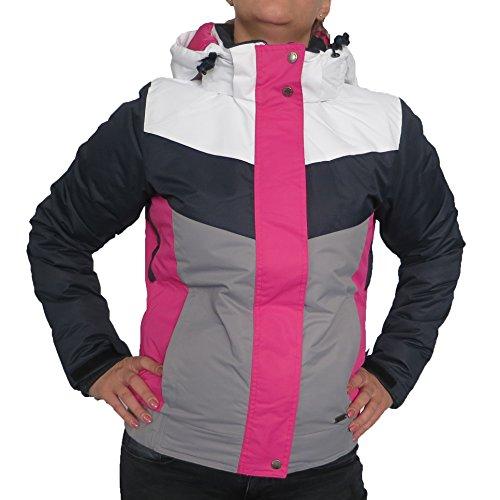TYROLIA Damen Skijacke Wintersport Jacke Winterjacke Snowboardjacke Vintage Look