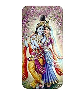 Lord Krishna 3D Hard Polycarbonate Designer Back Case Cover for Samsung Galaxy A8 (2015 Old Model) :: Samsung Galaxy A8 Duos :: Samsung Galaxy A8 A800F A800Y