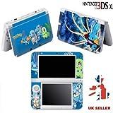Szone Sticker Skin für Nintendo 3DS XL, Motiv 'Pikachu'