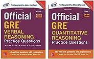 Official GRE verbal Reasoning Practice questions + Official GRE Quantitative Reasoning Practice questions