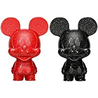 Mickey Mouse Red & Black Hikari XS Vinyl Figura Set