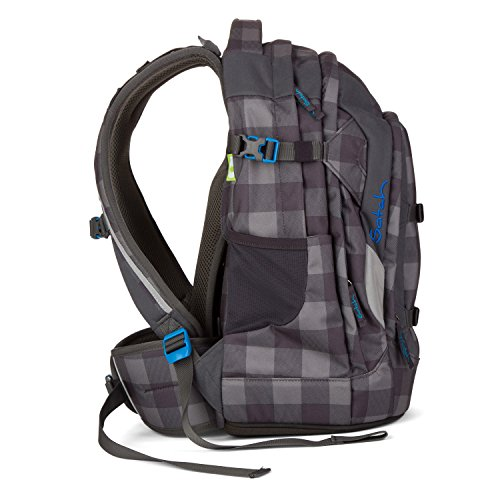 Satch Pack Checkplaid Schulrucksack