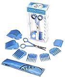 Haarschneide-Set aus beruhigenden Clippern für sensorische Empfindlichkeit, 10-teilig