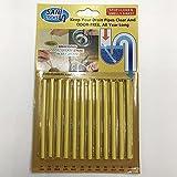 Hemore Drain Cleaner Sticks, Waschbecken Deodorant ((12 Pack), Waschbecken Lufterfrischer, um Geruchsfrei zu halten, wie im Fernsehen für Badezimmer, Küche, Abflussreiniger