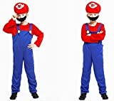CMF Kinder Kostüm Klempner Mario - Fasching Karneval