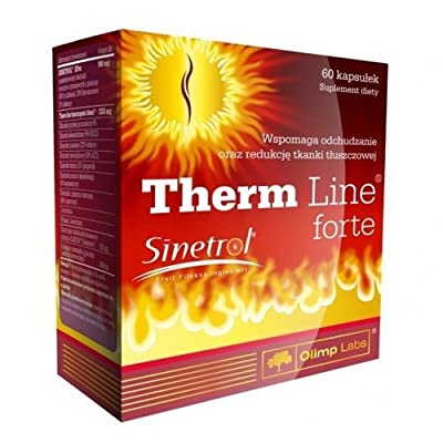 OLIMP THERM LINE FORTE - WITH SINETROL, L-CARNITINE, GUARANA - POWERFUL BURNER