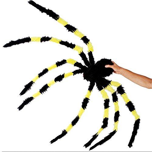 DDU Spannende 150cm große Größe Plüsch Spinne Halloween -