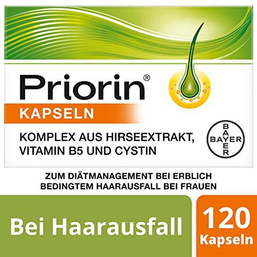 Priorin Kapseln bei hormonell erblich bedingtem Haarausfall(1) bei Frauen, 120 Kapseln