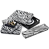 Zebra Jewelry Boxes5 Size Assortment