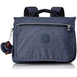 Kipling NEW SCHOOL Sac à dos enfants, 32 cm, 6 liters, Bleu (True Jeans)