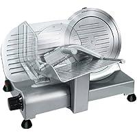 RGV Lusso 22 GL Eléctrico 140W Aluminio Plata rebanadora - Cortafiambres (Aluminio, Plata, 448 mm, 363 mm, 335 mm, 13 kg)