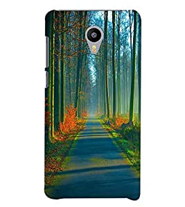 Printvisa Natures Beauty Back Case Cover for Meizu m3 Note::Meizu Blue Charm Note3