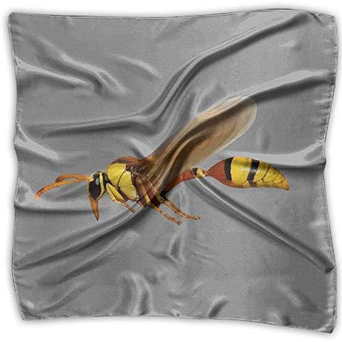 Kostüm Mann Bumblebee - Pizeok Yellow Bumblebee Insects bedruckter quadratischer Schal Schalkopf Wickelschal