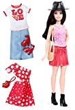 Barbie Fashionistas Doll & Fashions Pizza Pizzazz, Petite Dark-Haired