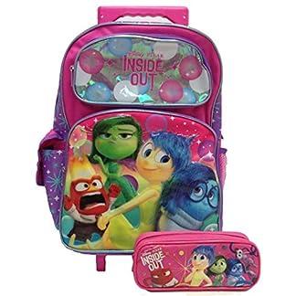 Disney Pixar Inside Out Mochila Rolling con estuche