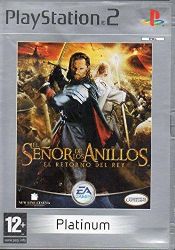 El señor de los anillos, el retorno del Rey PS2 PLATINUM