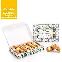 36 Cannoli sicilianos - Duci duci - Pastelería casera, cannoli siciliano relleno de crema de