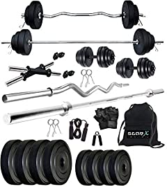 Star X PVC20KG Home Gym Set, Adult 20Kg