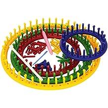 set 4 circular knitting looms set 4 telares circulares