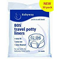 Babyway Travel Potty Liners (Pack of 30)