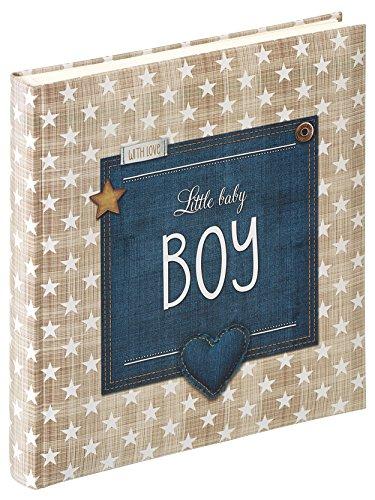 Walther UK-100-L Babyalbum Little Baby Boy, 28 x 30,5 cm, blau