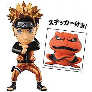 Most lottery NARUTO- Naruto -. Shippuden World Collectible Figure A prize Uzumaki metallic color ver separately 3